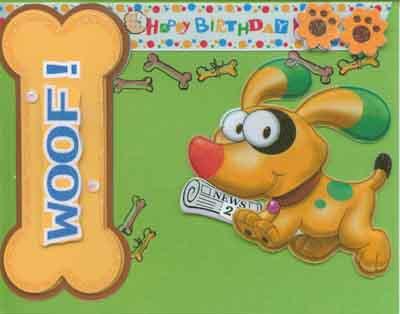 Greeting Card Happy Birthday Dog ANTHONY AQUANASSEE MEd B – Happy Birthday Dog Card